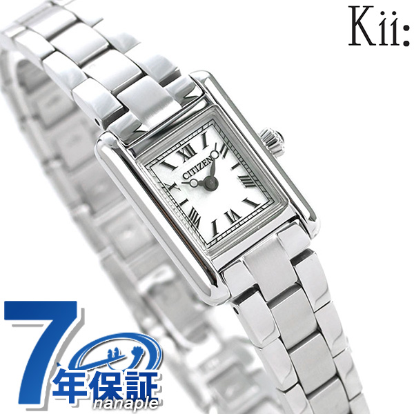 シチズン キー スクエア メタルバンド ソーラー EG2790-55B CITIZEN Kii 腕時計 時計