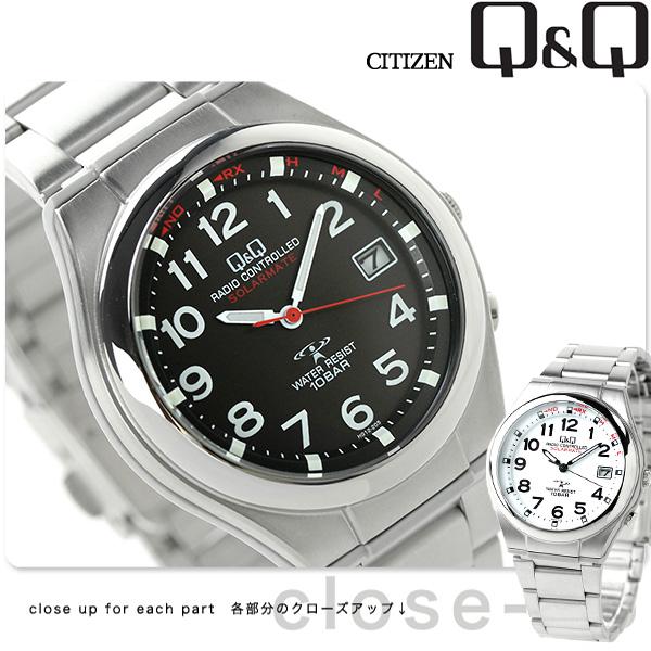 能選居民Q&Q太陽能同伴電波太陽能手錶HG12的模特