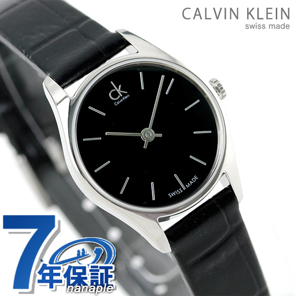 3ca19ce2a Calvin Klein classical music Lady's watch K4D231C1 CALVIN KLEIN black clock