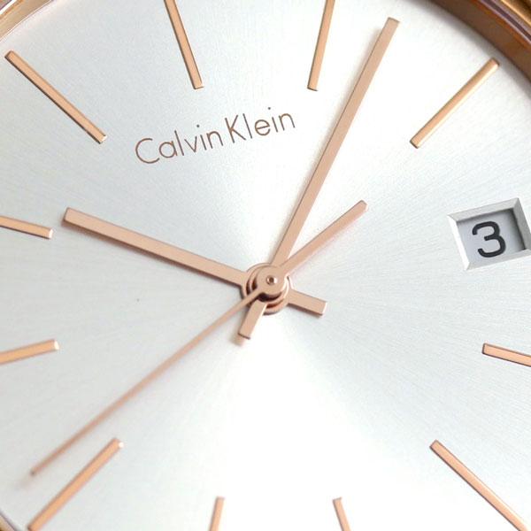 ck CK时间石英女士手表K4N23646 Calvin Klein粉红黄金