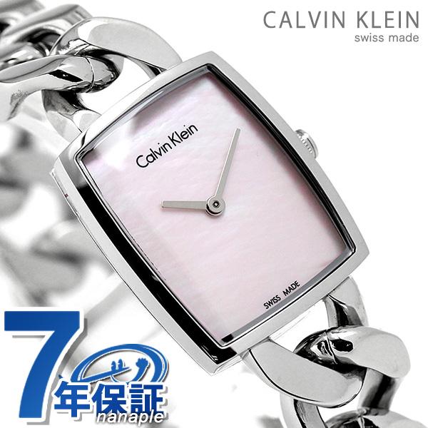 カルバンクライン アメーズ レディース 腕時計 K5D2L12E CALVIN KLEIN ピンクシェル 時計