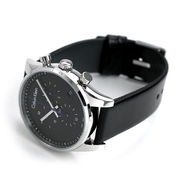 Men Switzerland Clock K8s271c1 Calvin Ted Klein 42mm Watches Fast Made In Chronograph drBCxoeW