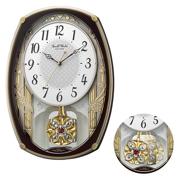 クロック スモールワールド 掛け時計 4MN540RH06 Small World 時計