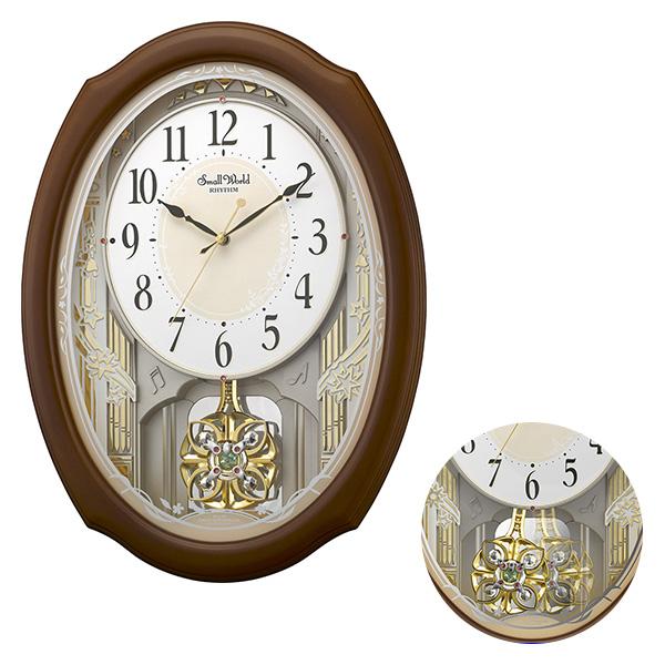 クロック スモールワールド セレブレ 掛け時計 4MN541RH06 Small World 時計