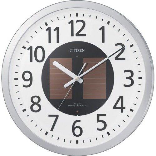 シチズン 電波 ソーラー 掛時計 ステップ秒針 エコライフM815 4MY815-019 時計