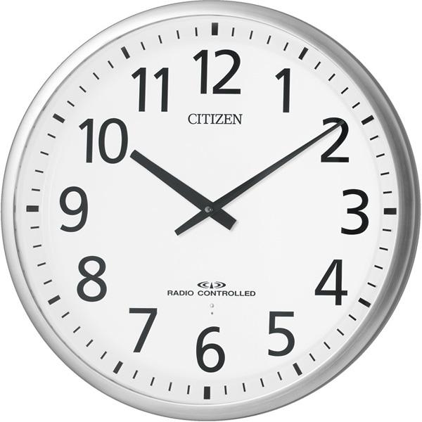 シチズン 掛時計 電波 スリーウェイブM821 シルバー 4MY821-019 時計