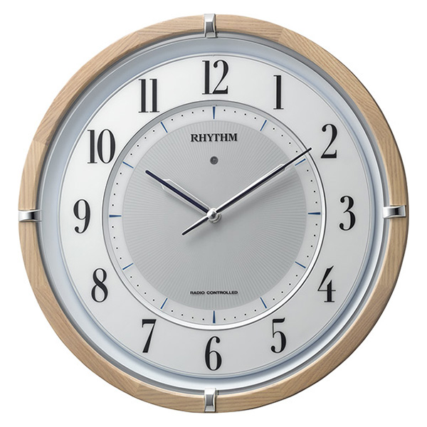 大切な クロック リズム RHYTHM サイレントソーラーM848 リズム 掛け時計 4MY848SR06 4MY848SR06 RHYTHM 時計, 【楽天スーパーセール】:f9288c12 --- rki5.xyz