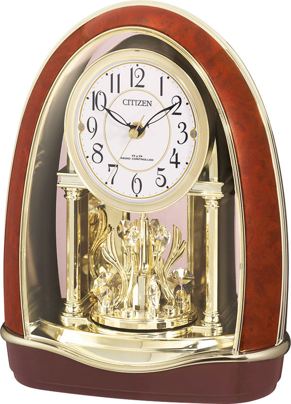 シチズン 置時計 電波 パルドリームR414 4RN414-023 時計