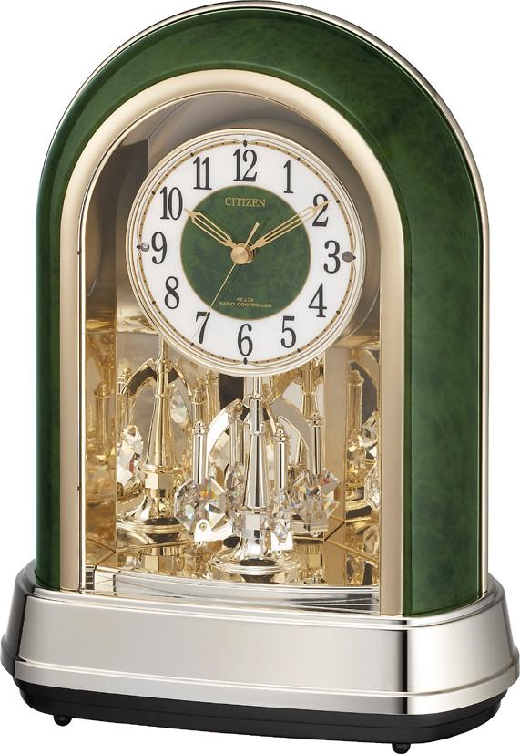 シチズン 置時計 電波 毎正時メロディ ステップ秒針 パルドリームR427 4RN427-005 時計