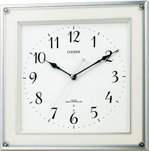 シチズン 掛時計 電波 ミレディスクエア 8MY451-003 時計