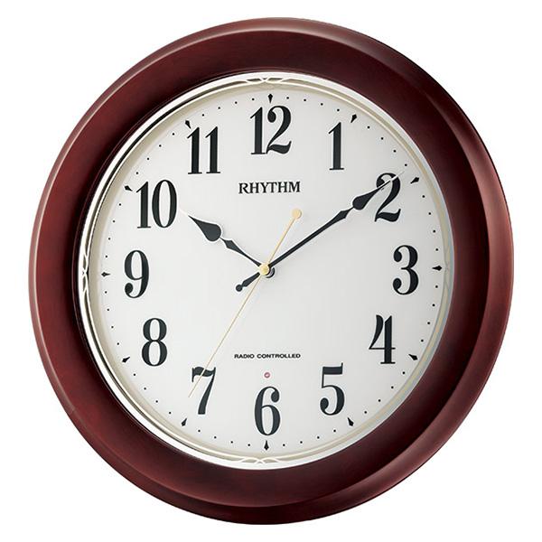 クロック リズム フィットウェーブノア 掛け時計 8MY504SR06 RHYTHM 時計