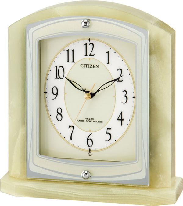 シチズン 置時計 オニックス 電波 パルラフィーネR400 8RY400-005 時計
