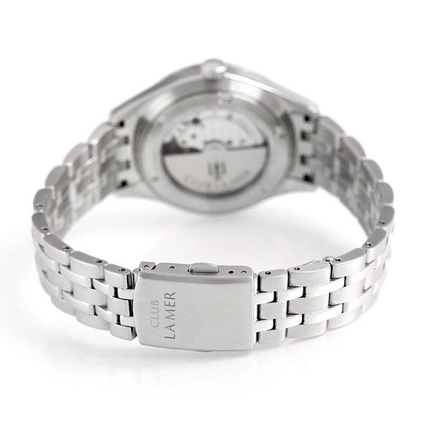 kuraburameru CLUB LA MER自動卷人手錶BJ6-011-11白
