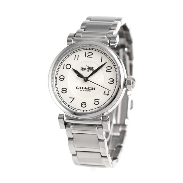 Coach madison quartz Lady's watch 14502394 COACH white