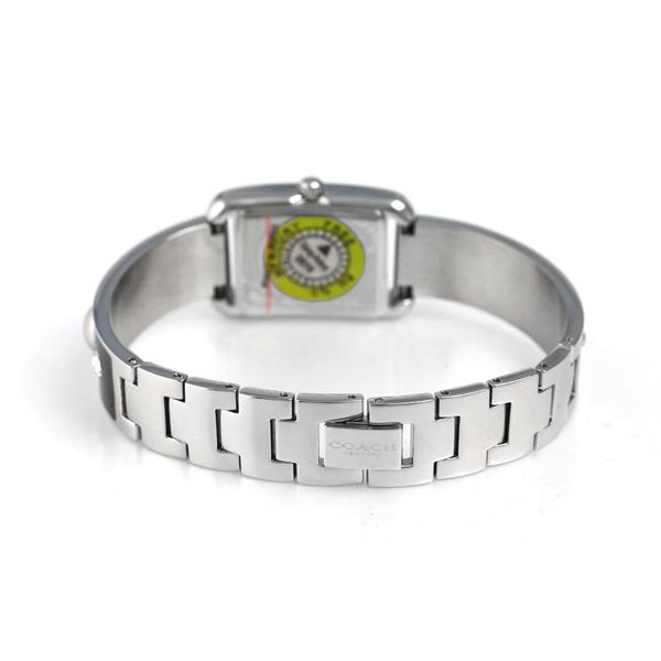ブラック COACH 【あす楽対応】 14502545 シルバー コーチ トンプソン 腕時計 レディース 時計 クオーツ ×