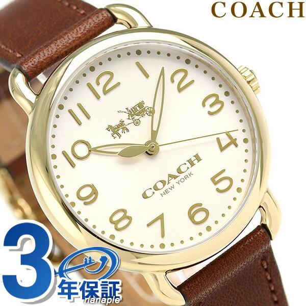 eb82462bf0f3 【あす楽対応】 腕時計 デランシー レディース 時計 COACH コーチ シルバー×ピンクゴールド スリム 36mm 14502787