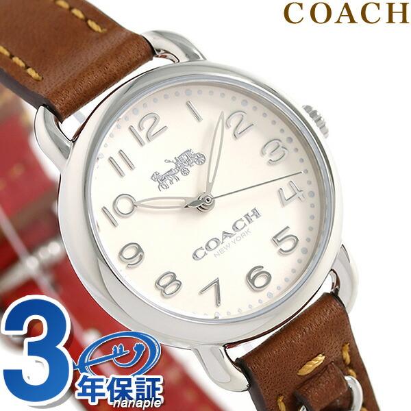 コーチ 時計 レディース COACH 腕時計 デランシー 28mm チャーム 14502800 革ベルト【あす楽対応】
