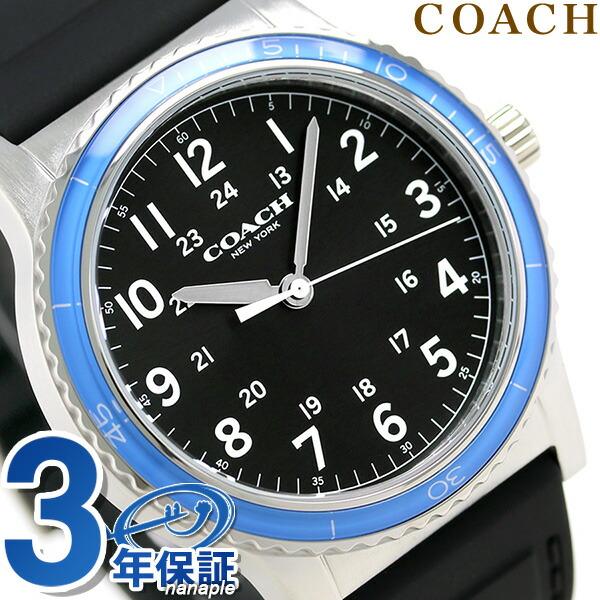 教练石英人手表14602068 COACH黑色