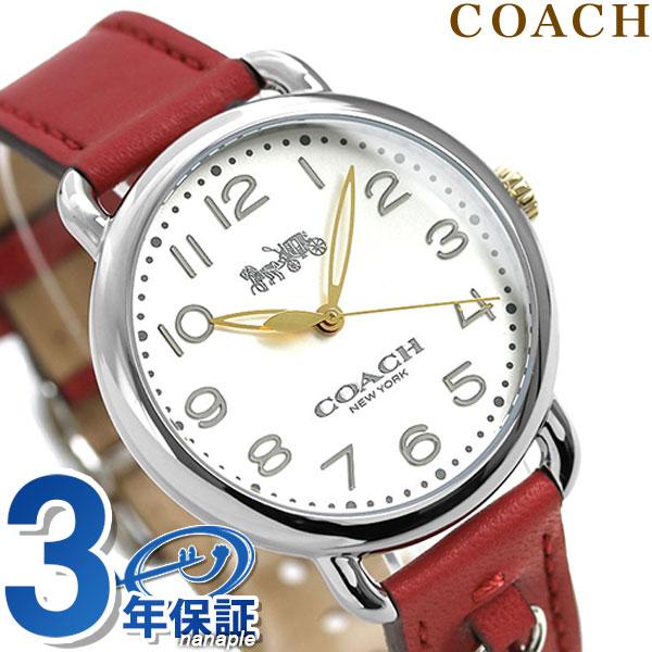 コーチ COACH 時計 レディース 36mm ハート チャーム 革ベルト 14502970 デランシー 腕時計【あす楽対応】
