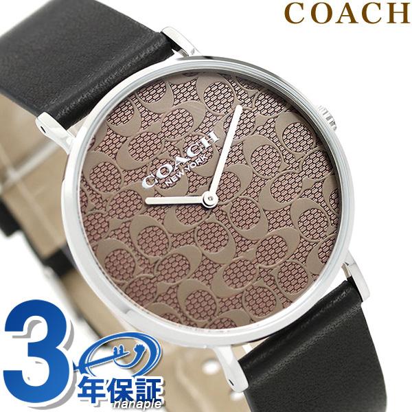 コーチ COACH 時計 レディース 36mm シグネチャー柄 革ベルト 14503123 ペリー 腕時計【あす楽対応】