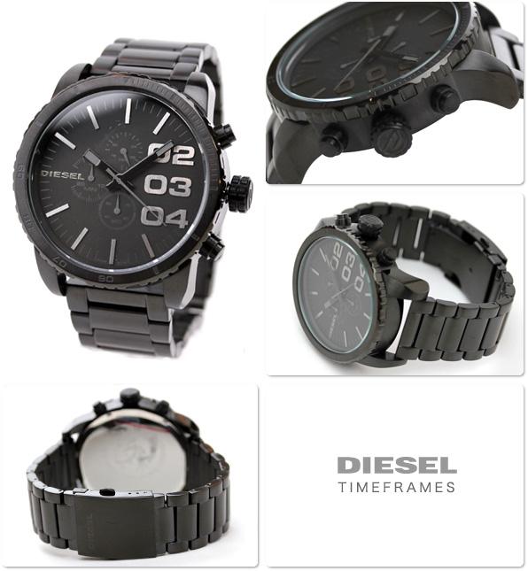 nanaple rakuten global market diesel watch diesel men x27 s diesel watch diesel men s watches chronograph metal belt black dz4207