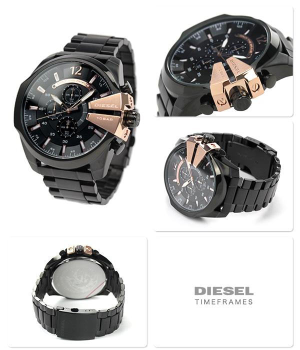 DZ4309 diesel mens watch megachurch black DIESEL P19Jul15