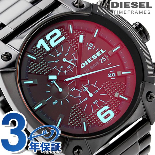 DZ4316 diesel overflow chronograph quartz DIESEL men watch black