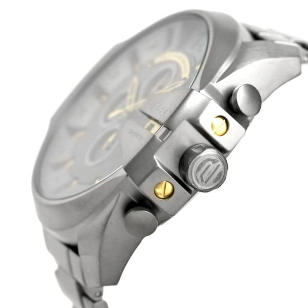 661105932 ... Diesel clock men DIESEL watch DZ4466 mega chief 54mm chronograph ...