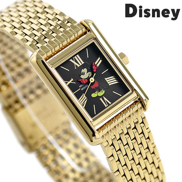 ディズニー ウォッチ ミッキーマウス 20mm レディース MTW-BLK Disney watch 腕時計 ブラック