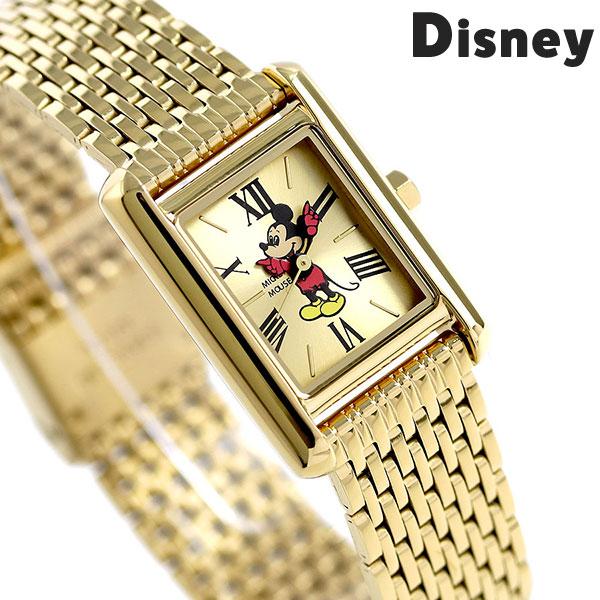 ディズニー ウォッチ ミッキーマウス 20mm レディース MTW-GLD Disney watch 腕時計 ゴールド