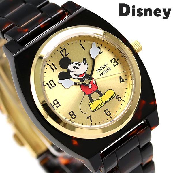 67fbeede7fd9 ディズニー ミッキーマウス 36mm クオーツ TOR-MCK-01GD Disney 腕時計 トートイズ 時計