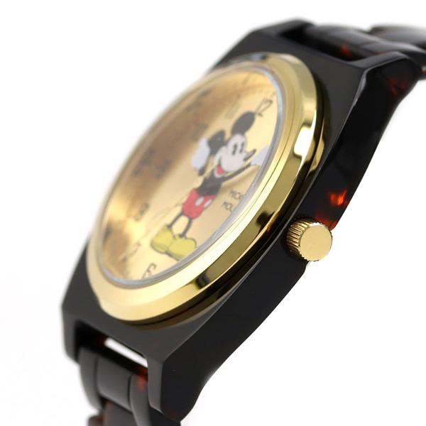 61b1ac39ffa5 正規品 ディズニー ウォッチ ミッキーウォッチ べっ甲タイプ ミッキーマウス 36mm クオーツ ユニセックス 腕時計 TOR-MCK-01GD  Disney Watch MICKEY TORTOISE TYPE ...