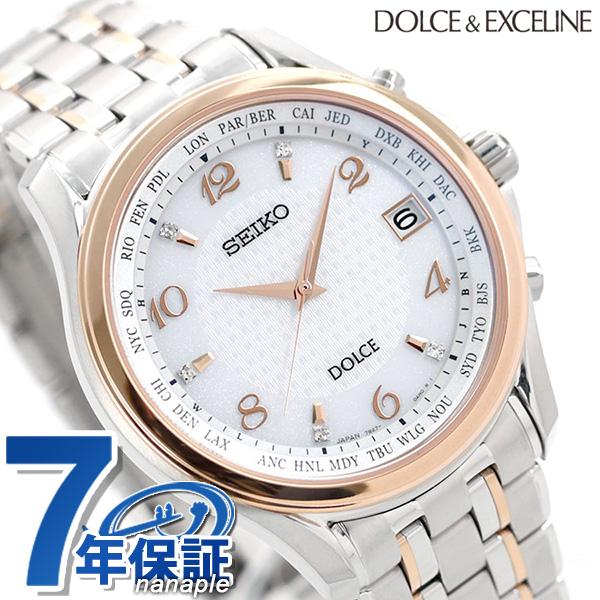 【10日はさらに+4倍で店内ポイント最大53倍】 セイコー いい夫婦の日 限定モデル 電波ソーラー メンズ SADZ204 SEIKO ドルチェ&エクセリーヌ 腕時計 時計