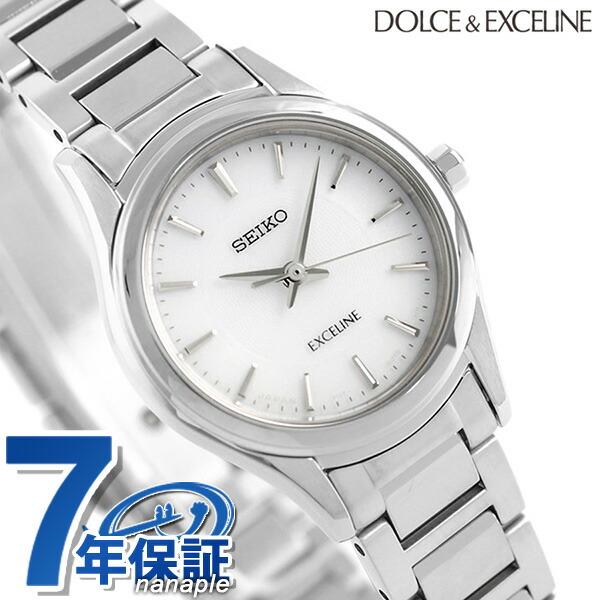 セイコー ドルチェ&エクセリーヌ 日本製 ソーラー レディース SWCQ091 SEIKO 腕時計 時計