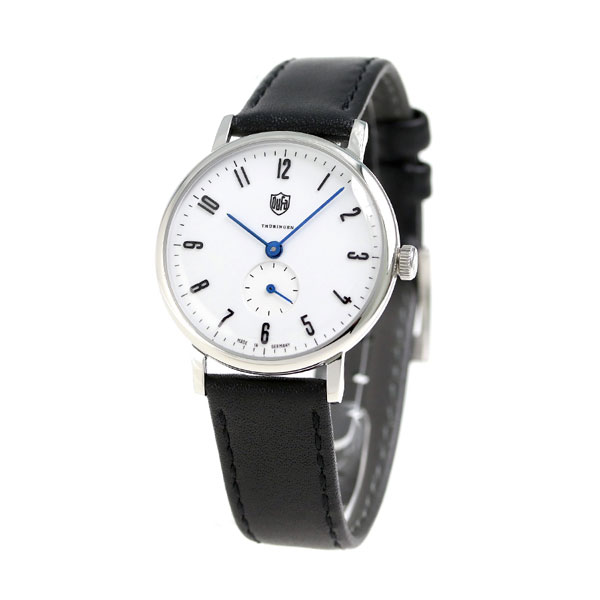 DF-7001-03 watch white X black made in DUFA ドゥッファヴォルター bizarrerie Pius 32mm Germany