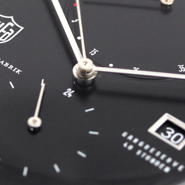 Self-winding watch DF-9010-01 watch black made in DUFA ドゥッファマルセルブロイヤー 42mm Germany