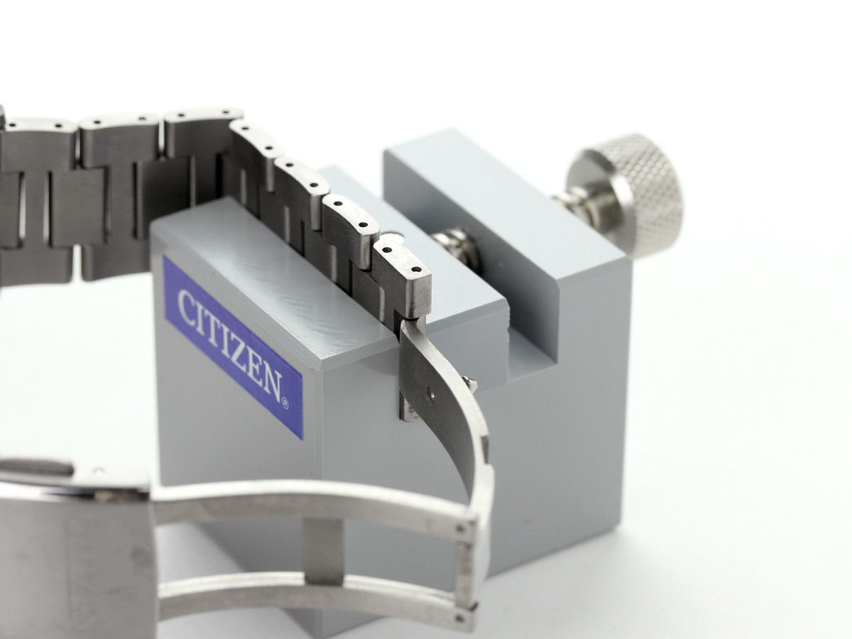 Vise 052 belt adjustment watch Citizen C01014 for the citizen band