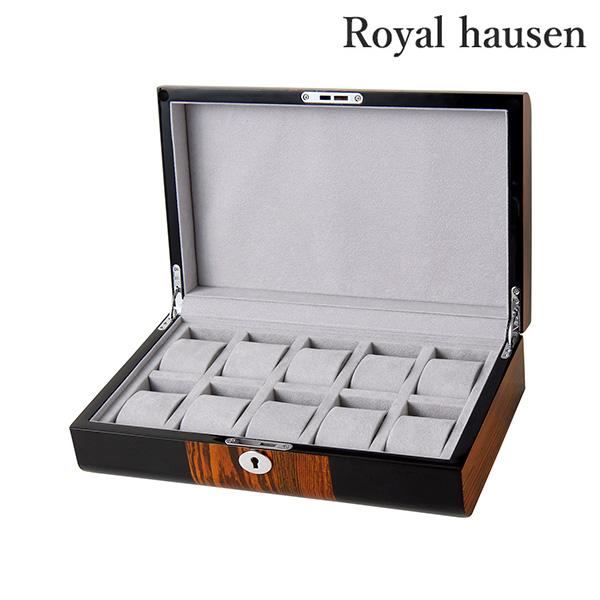 ロイヤルハウゼン 腕時計ケース 10本収納 GC02-LG2-10 Royal hausen
