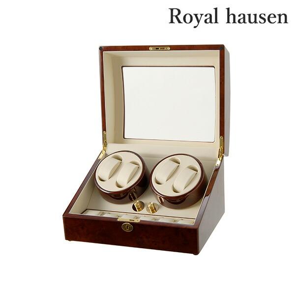 ロイヤルハウゼン ワインダー 4本巻き上げ 5本収納 腕時計 GC03-D31 Royal hausen 時計