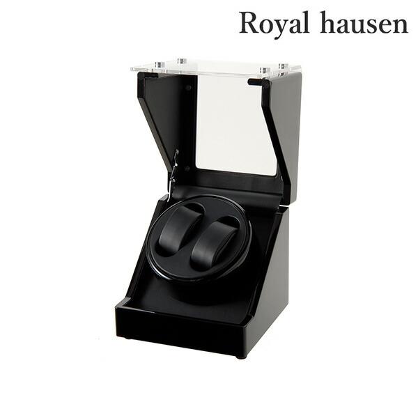 ロイヤルハウゼン ワインディングマシン ワインダー 自動巻き腕時計用 2本巻き上げ GC03-S102BB ワインディングマシーン