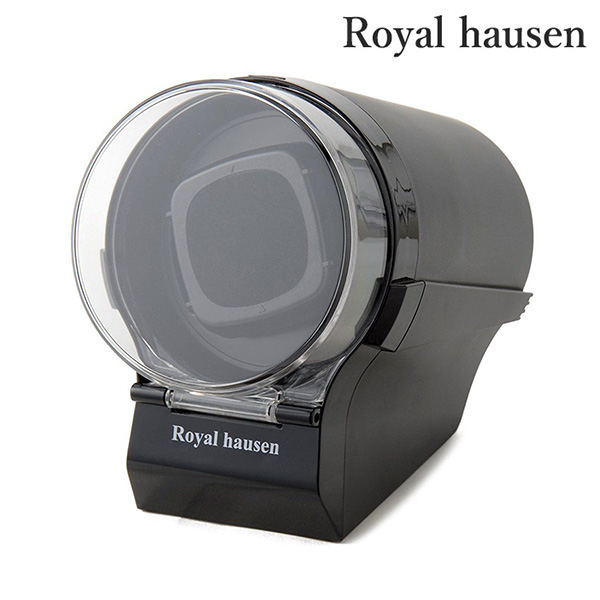 正規品 新品 1年保証 日本メーカー新品 送料無料 ロイヤルハウゼン ワインディングマシーン セール 特集 ウォッチワインダー 1本 Royal 巻き上げ 時計ケース SR097BK ワインダー hausen ワインディングマシン ブラック