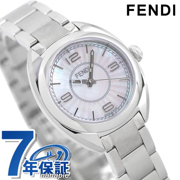 フェンディ 時計 モメント 26mm レディース F218024500 FENDI ホワイトシェル【あす楽対応】
