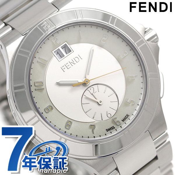 店内ポイント最大43倍!16日1時59分まで! フェンディ ハイスピード クオーツ スイス製 メンズ 腕時計 F478160 FENDI ホワイト 新品 時計