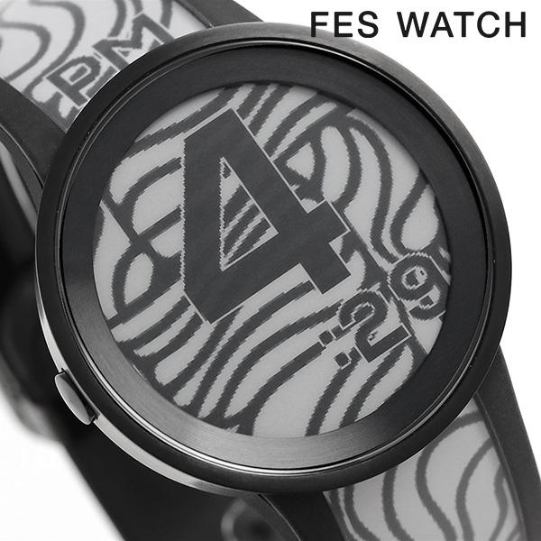 SONY ソニー 日本製 スマートフォン連動 プレミアムブラック 柄が変わる 時計 フェスウォッチ FES Watch U【あす楽対応】