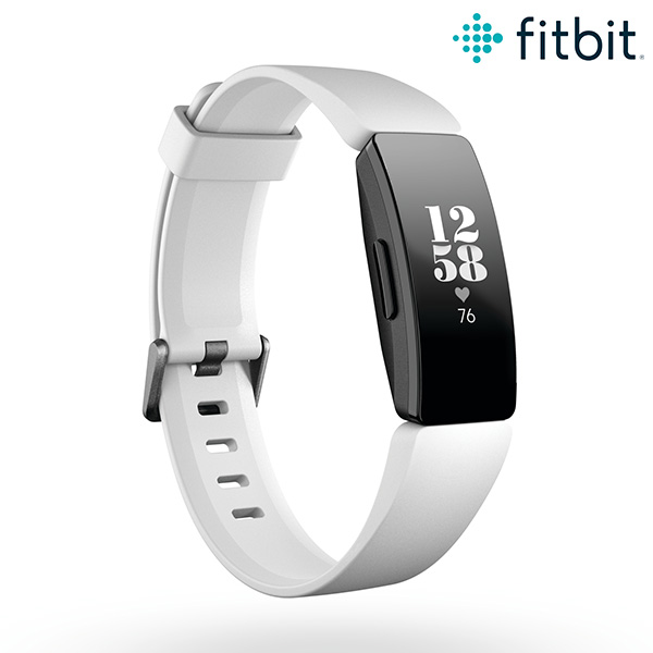 fitbit フィットビット ホワイト スマートウォッチ 活動量計 心拍数 歩数計 メンズ レディース 腕時計 FB413BKWT-FRCJK Inspire HR【あす楽対応】