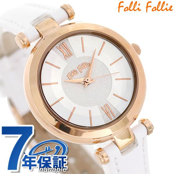フォリフォリ レディ バブル クオーツ レディース 腕時計 WF16R009SPSWH Folli Follie 時計