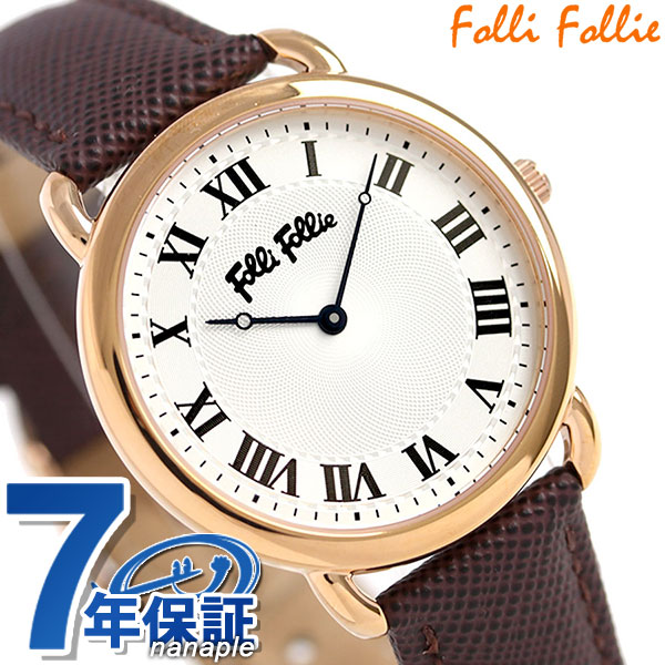 フォリフォリ パーフェクト マッチ 33mm クオーツ レディース 腕時計 WF16R013SPSBR Folli Follie 時計
