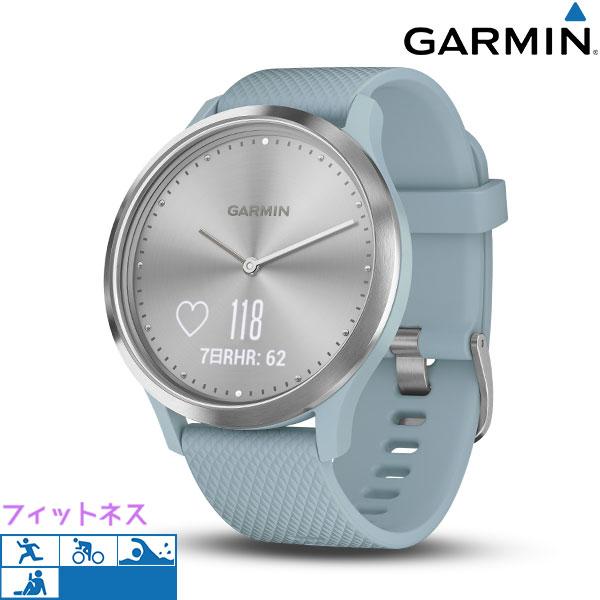 ガーミン GARMIN vivomove HR スマートウォッチ タッチパネル 010-01850-78 腕時計 シルバー×ライトグレー 時計【あす楽対応】