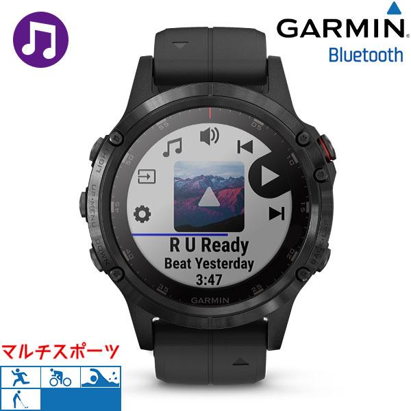 ガーミン GARMIN フェニックス5プラス fenix 5 Plus ブラック 010-01988-78 腕時計 GPS Bluetooth 時計
