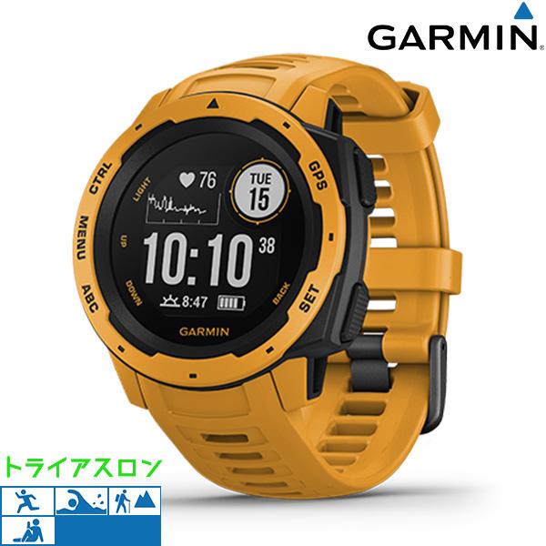 【10日はさらに+4倍で店内ポイント最大53倍】 ガーミン GARMIN Instinct GPS アウトドアウォッチ 010-02064-42 デジタル メンズ 腕時計 サンバースト【】
